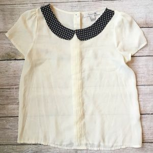 Peter Pan Blouse by Forever 21
